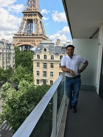 Balcony With Eiffel View Room 616 Picture Of Pullman