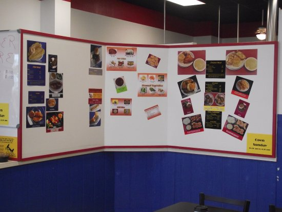 Monett, MO: We have an easy to read Menu Board with full color pictures.
