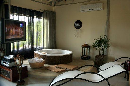 Itapemar Hotel: Sala apartamento loft