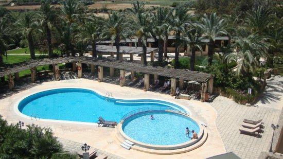 Kempinski Hotel San Lawrenz : basen dla dzieci i dorosłych miłośników pół-kąpieli