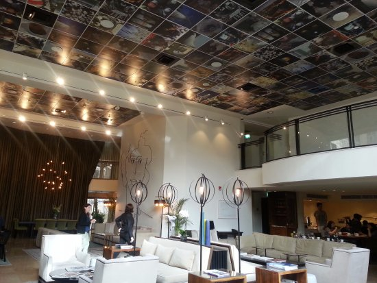 Harmony Hotel Jerusalem - an Atlas Boutique Hotel : Lobby and Dining Area