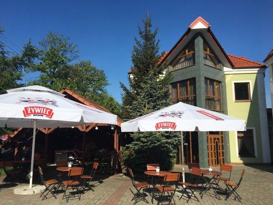 Kutno, Polonia: Hotel z zewnątrz