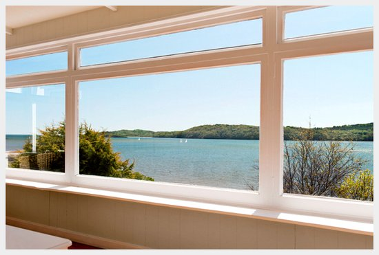 Kippford, UK: View from The Suite.  Sleeps 2-4.  Flexible accommodation for couples, friends (twin) and famili