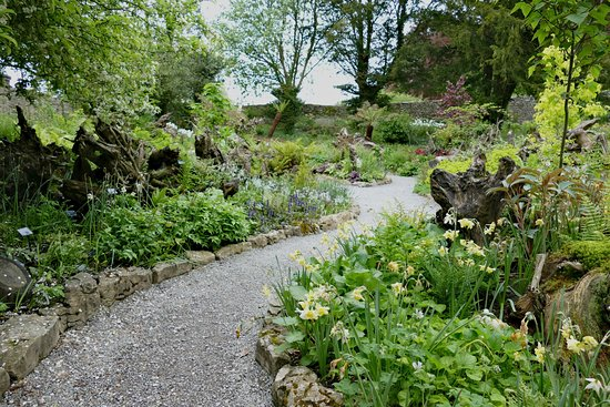 Kendal, UK: Sizergh Castle gardens