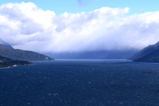 Mirador Lago Traful: Esta es la maravillosa vista del lago