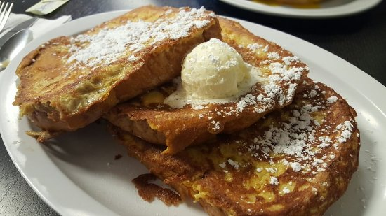 La Mesa, Kalifornien: Thick sliced french toast