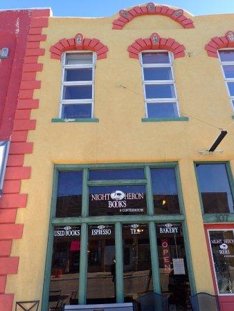 Night Heron Store Front, Laramie WY