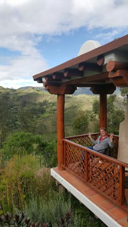 Isinlivi, Ecuador: balcony