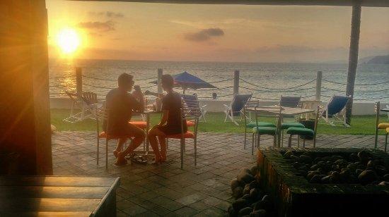 Costalegre, México: Puesta del sol en Barra de Navidad