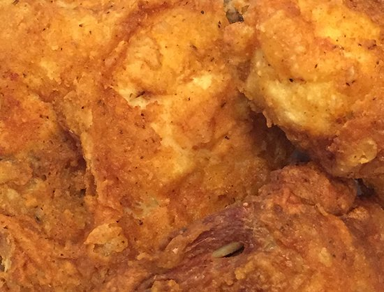 Hillsborough, Carolina del Norte: Our Specialty - Fried Chicken with Jay's Special Recipe