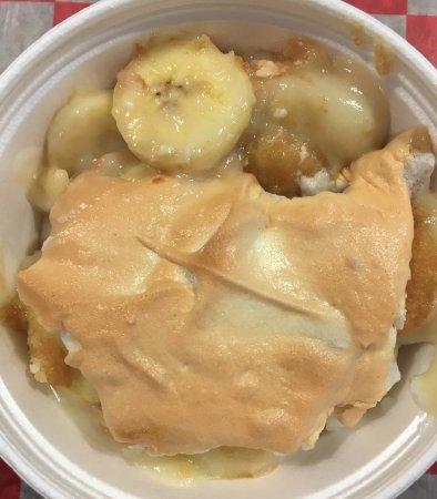 Hillsborough, Carolina del Norte: Housemade Banana Pudding
