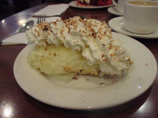 Oshawa, Canadá: Coconut cream pie