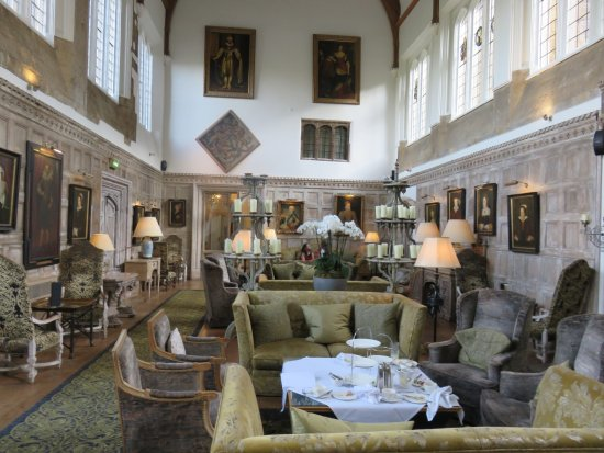 Fawsley, UK: The main hall