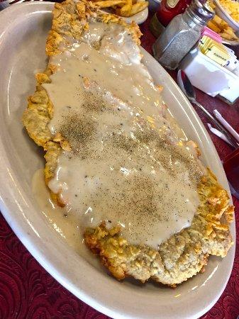 Denton, TX: Monster Chicken Fried Steak
