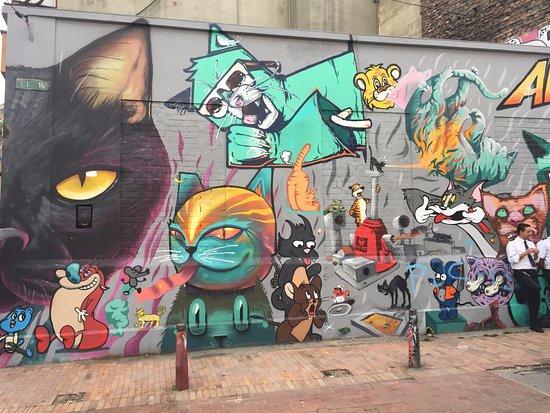 La Candelaria: Street art