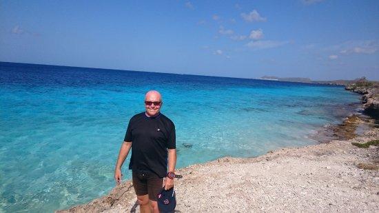 Kralendijk, Bonaire: Uno de los sitios de buceo desde la costa