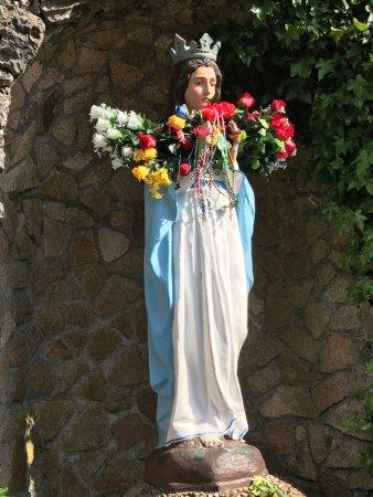 Knock, Ireland: Statue of the Virgin Mary.