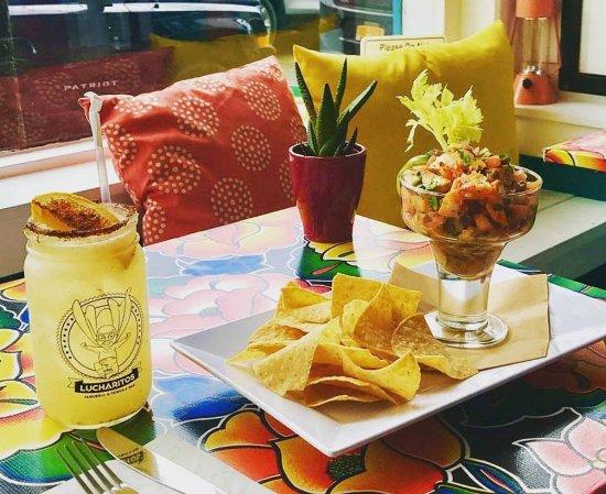 Lucharito's : Local Conch & Shrimp Ceviche!