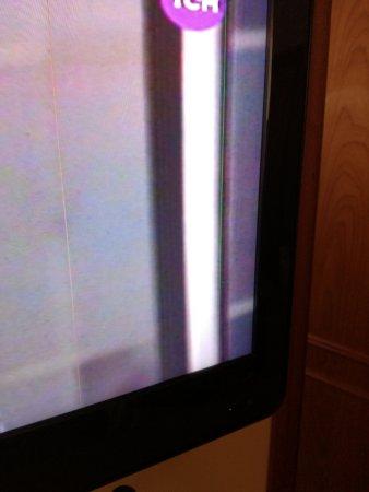 Hotel Remanso: La tv estaba algo fallada