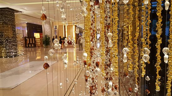 The Lighted Beads In The Lobby Were Really Pretty Picture Of West