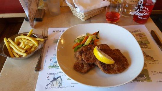 Disentis, Schweiz: CUCAGNA Restaurant