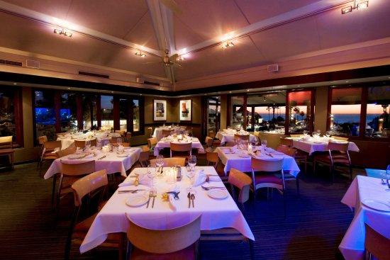 Del Mar, Kalifornien: Dining Room at Night