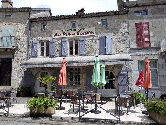 Limogne-en-Quercy, Francia: le restaurant