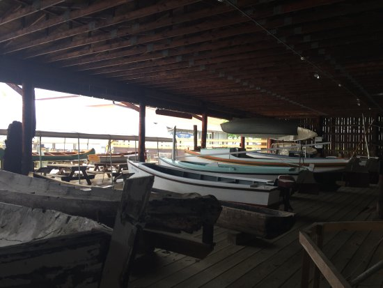 Solomons, MD: boats from many eras