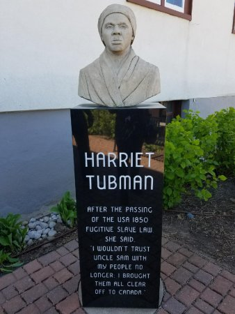 St. Catharines, Καναδάς: Harriet Tubman historical marker