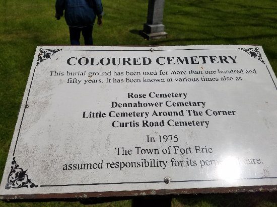 """St. Catharines, Καναδάς: Visited a """"colored"""" cemetary"""
