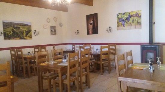 Roujan, Fransa: Différent plat que propose le restaurant