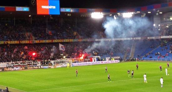 Stadion St Jakobpark: Fc Basel