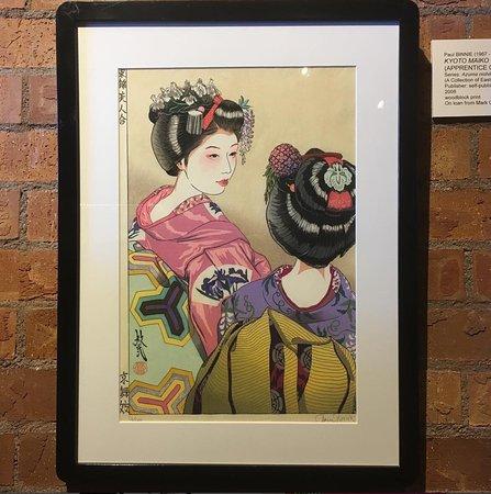 Sangre de Cristo Arts & Conference Center: Japanese wood block print