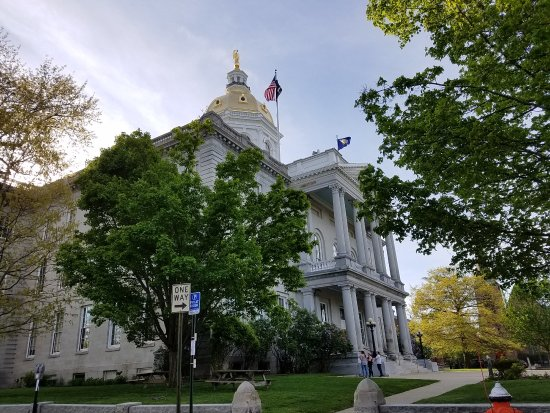 Concord, NH: the state house