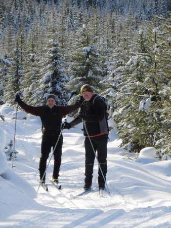 Nelson, Canada: Great Nordic Skiing