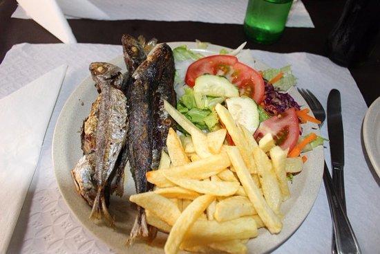 Sao Vicente, Πορτογαλία: chicharros fritos