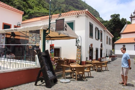 Sao Vicente, Πορτογαλία: restaurant entrance