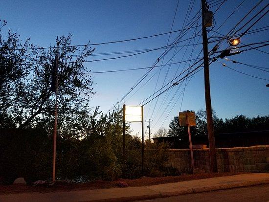 Contoocook, NH: sign