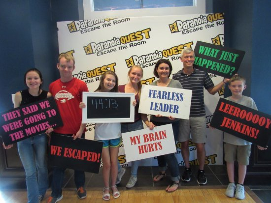 Escape Room Buford Mall Of Georgia Picture Of Paranoia Quest