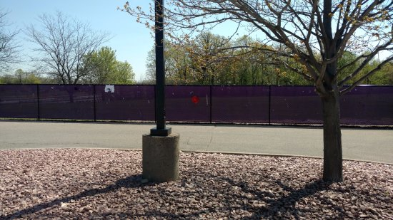Chanhassen, MN: Prince's Memorial Fence