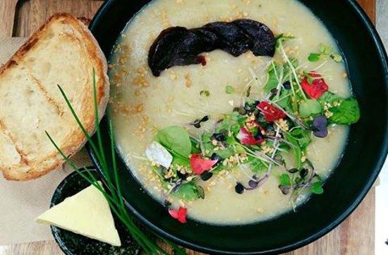 Henderson, New Zealand: warm soup in winter