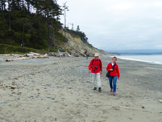 Sequim, WA: Enjoy a pleasant walk on the spit.