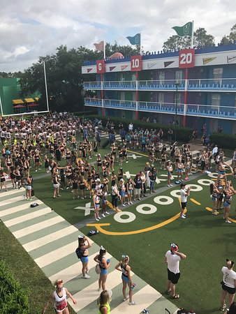 75b250f6e7ee Disney s All-Star Sports Resort  All star sports resort for a cheer  competition