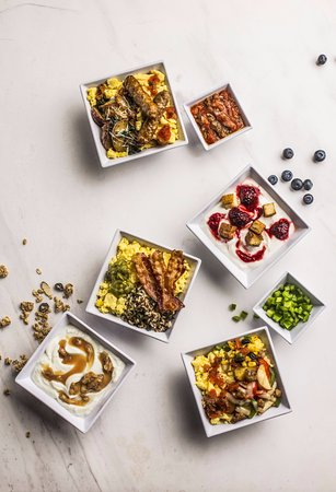 Hyatt Place Richmond / Arboretum: Breakfast Bowl and Parfait Group