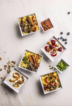 Hyatt Place Richmond / Arboretum: Breakfast Bowl and Parfait Group