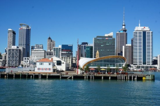Fullers Auckland Harbour Cruise: View heading out