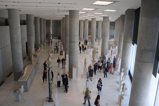 Μουσείο Ακρόπολης: Inside the Museum