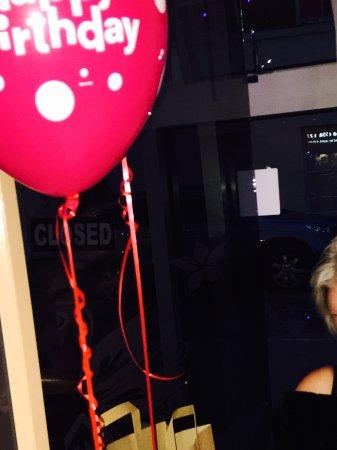 Market Drayton, UK: Celebrating Birthday Party at Oruna