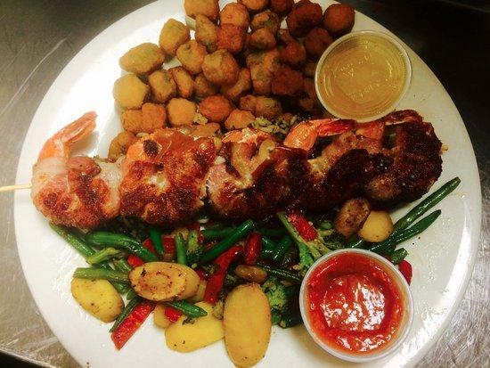 Dumas, TX: Shrimp Brochette