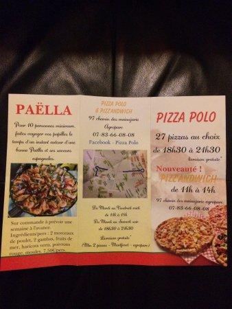 Montfavet, فرنسا: Pizza Polo